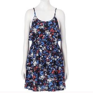 Elle Tiered Floral Dress